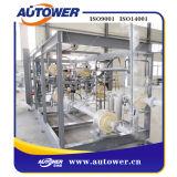 Surtidor superior modificado para requisitos particulares del sistema del dispositivo de cargamento del patín