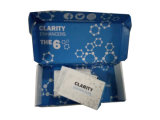 Caja de cartón plegable pequeña caja de cartón ondulado con inserto de impresión personalizado