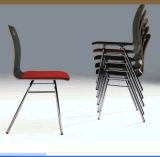 良質のスタック可能木製の食事の椅子