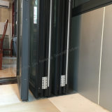 Bi-Folding Puerta metálica con perfil de aluminio