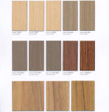 Über 1000 lamellenförmig angeordneten Blättern des Farben-flexiblen hochwertigen hölzernen Korn-HPL für Schlafzimmer-Möbel-Einkommen-Dekoration