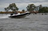 PVC inflável alemão do barco do Decking do barco do PVC de Liya