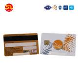 Carte sans contact RFID prépayé en PVC avec la signature de bord