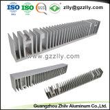 La fábrica de extrusión de aluminio anodizado de disipador de calor LED