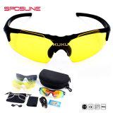На заводе Wholeasale УФ400 Impact-Resistance дешевые поляризованные очки спортивные очки
