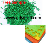 LLDPE/HDPE/LDPE Carrier Green Masterbatch for Plastic Container
