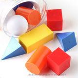 Giocattolo conoscitivo di formazione geometrica di base dei solidi