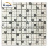 Nuove mattonelle di mosaico Mixed del marmo delle mattonelle della cucina di figura del quadrato di colore 2018