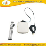 3 em 1 Mini-carregador de cabo retráctil para Projetor portátil