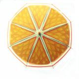かわいいフルーツの子供の傘の創造的な柄が長い手動で男の子の女の子第2のための傘をからかう
