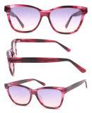 2018 de Nieuwe Model Kleurrijke Zonnebril van de Acetaat van Frames