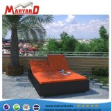 Daybed esterno di Sunbed del Daybed ricoperto tessuto comodo francese del salotto del Chaise