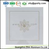 Dekorative Decken-Aluminiumrollen-Beschichtung-Drucken-Decken-Fliese mit ISO9001