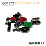 Tag Heatproof do OEM do metal da freqüência ultraelevada mini para a gerência de combustível RoHS da frota Oppd6