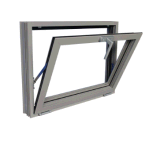 86mm Tickness thermischer Bruch-Aluminiummarkise Windows