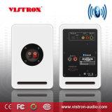 De aangedreven Sprekers van het Boekenrek Bluetooth - 3.5 RCA en Optische Input - de Draadloze Monitors van de Studio - 4 Duim dichtbij de Spreker van het Gebied - 42W RMS - Houten Korrel (Hout)