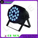 専門家18X10W RGBW 4in1の同価LEDの段階ライト