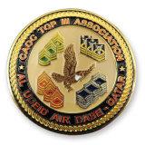 Heiße verkaufende unregelmäßige Form-Frosch-Firmenzeichen-Andenken-Münze
