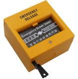 Кнопка сигнала тревоги пролома отпуска двери кнопки переключателя аварийного выхода стеклянная