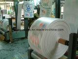Tela tecida PP branca para fazer sacos
