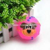 De rubber Bal van het Gezicht van de Hond van het Stuk speelgoed, de Toebehoren van het Huisdier