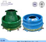 Nordberg Metso G412 Kegel-Zerkleinerungsmaschine-Filterglocke-Zwischenlage, konkav und Umhang