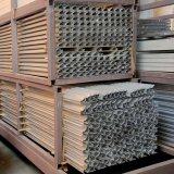 l'espulsione di alluminio industriale 6063t profila il materiale da costruzione