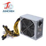 24pin Ethereum 1300W Bitcoin Bergbau-Bergmann-Stromversorgung für Antminer 6GPU