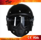 Casco flexible durable Eyewear de los anteojos de la lente de Offs del rasgón de TPU para los deportes del motocrós