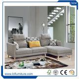 Base 2017 di sofà poco costosa di Seater della camera da letto 3 di stile di modo di alta qualità calda di vendita della Cina