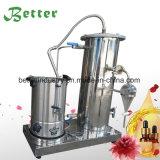 Destilador de cristal del petróleo esencial del vapor de agua