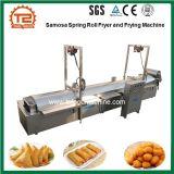Samosa пружина валика фритюрницы и время жарки машина используется в чипсы производственной линии