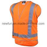 заводская цена Ce EN20471 стандарт безопасности светоотражающей одежды Майка