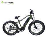 Bici elettrica di Moutain della gomma del motore grasso della manovella con il motore di 1000W Bafang