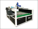Laser de gran tamaño del espejo de cristal que graba la máquina dinámica de la marca de la fibra 50W