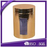 カスタム印刷の贅沢な円形の管の茶包装ボックス