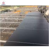 Draagbare installeert Gemakkelijk van de Stadia van het Platform van het Stadium van het triplex Mobiele Stadium