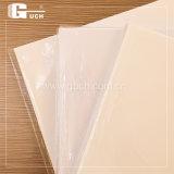 Cartão que faz a PVC o material de folhas transparente