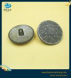 カスタムロゴの空の金属の黒のニッケルのシャンク・ボタン