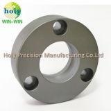 Aluminium Materiële CNC die Machinaal bewerkend Aluminium om Grondplaat draaien