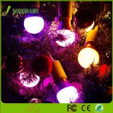 E26 5W UM19 Luz lâmpada LED cor-de-laranja para decoração de árvore de Natal