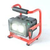 Sustitución de baterías de 20W luz LED de trabajo