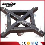 جملون فولاذ قاعدة مع عجلة ألومنيوم حقيرة ألومنيوم جملون شريكات