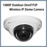 2,1 mm Lente Fisheye Segurança 1080P Dome CCTV Câmara IP sem fio