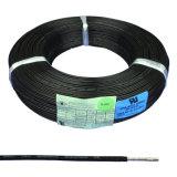 300V noir sur le fil de cuivre conduite isolation Téflon FEP le fil de masse