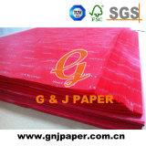 Tissu imprimé de papier personnalisé pour l'emballage cadeau