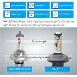 L'automobile luminosa eccellente V6 illumina la lampadina H11 H7 H4, lampadina automobilistica del faro del LED del faro dell'automobile LED di 35W 12volt