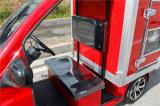 Тележка поставки электрической пожарной машины Van миниая