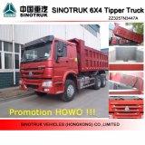 Autocarro a cassone caldo dell'autocarro con cassone ribaltabile di Sinotruk HOWO 6X4 di vendita