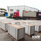 中国の卸し売り建築材料12mmの灰色の固体表面2018年